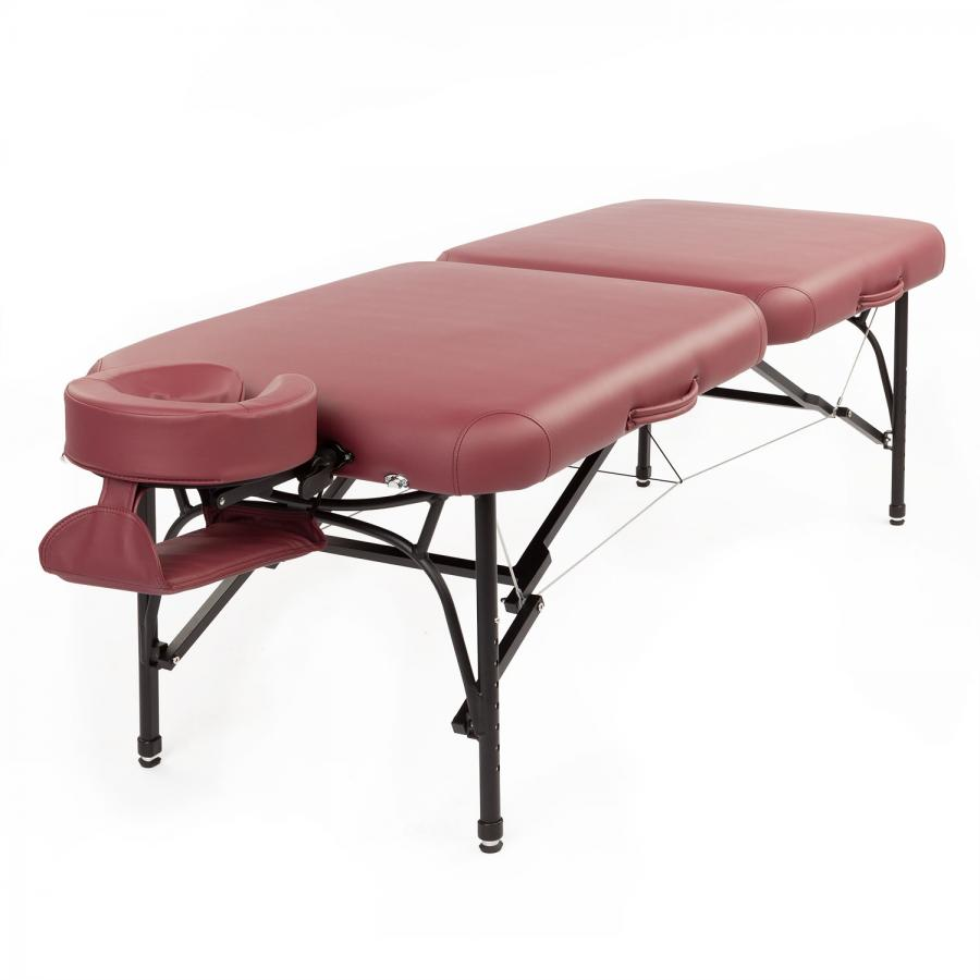 MassagetafelTAOline VOYAGER LIGHT rood